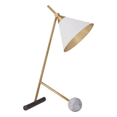Kelly Wearstler - Cleo Table Lamp Antique Burnished Brass