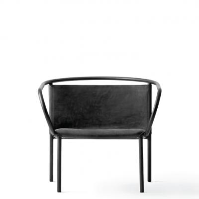 Menu - Afteroom Lounge Chair Black 1