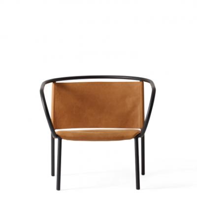 Menu - Afteroom Lounge Chair Black:Cognac 1