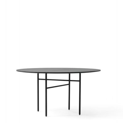 Menu - Snaregade Table Round Black