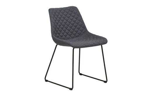 Henri Dining Chair Dark Grey 1