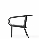 Menu - Afteroom Lounge Chair Black 2