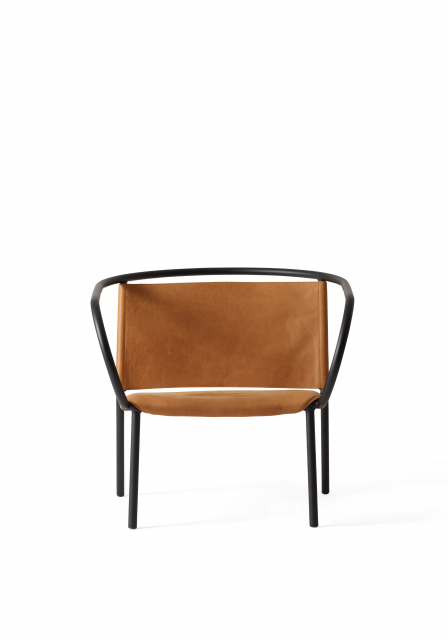 Menu - Afteroom Lounge Chair Black:Cognac 1