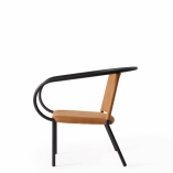 Menu - Afteroom Lounge Chair Black:Cognac 2