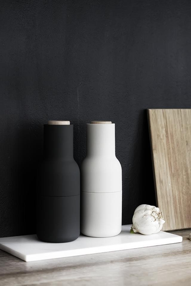 bottle grinder ash carbon menu partridgedesign. Black Bedroom Furniture Sets. Home Design Ideas
