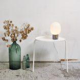 Menu - JWDA Concrete Lamp in Setting