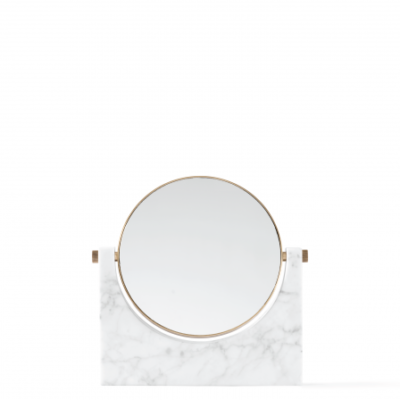 Menu - Pepe Marble Mirror White