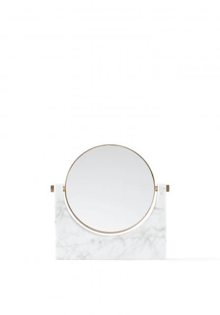 Menu - Pepe Marble Mirror White