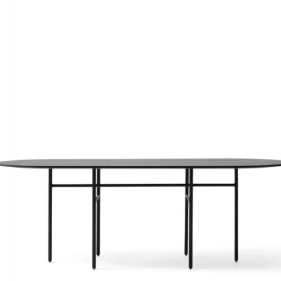 Menu - Snaregrade Table Oval Black