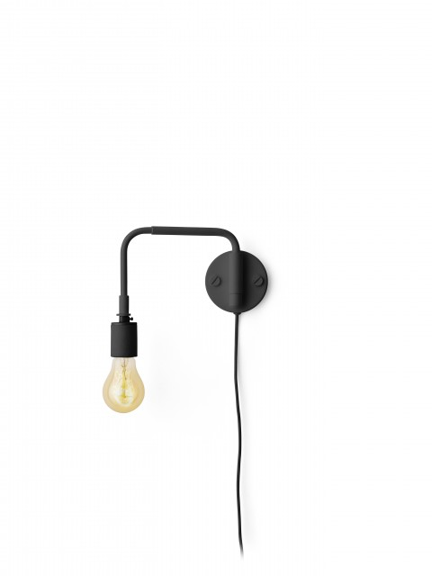 Menu Staple Lamp Black