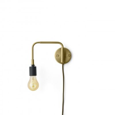 Menu - Staple Lamp Brushed Brass