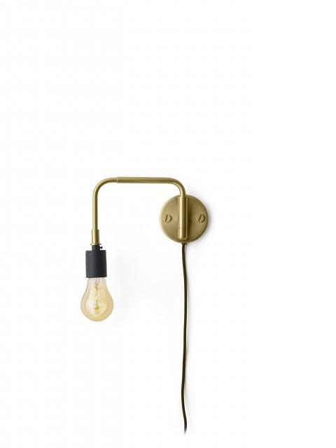 Menu - Staple Lamp Brushed Brass