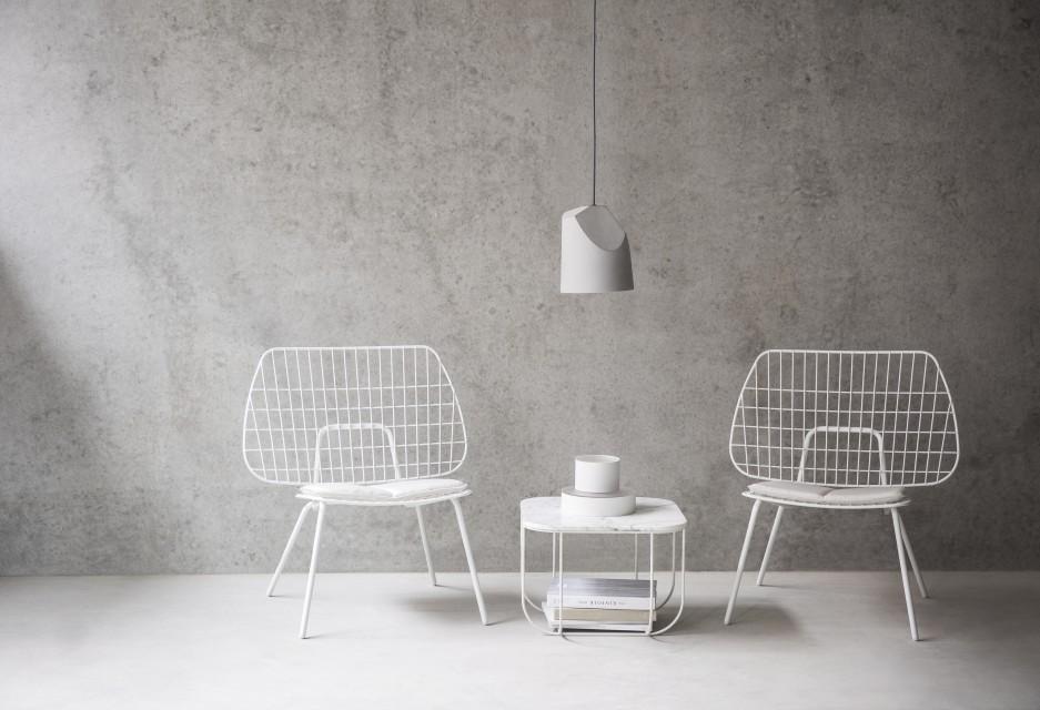 ... Menu   String Lounge Chair In Setting