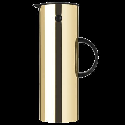 Stelton - EM77 vacuum jug, 1L Brass