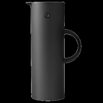 Stelton - EM77 vacuum jug, 1L Soft Black