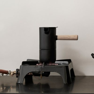 Stelton - Nordic Collar Espresso Brewer in Setting