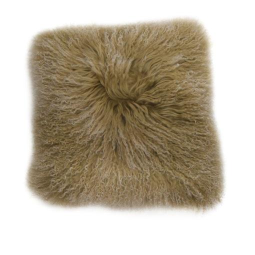 Mongolian Caramel Cushion