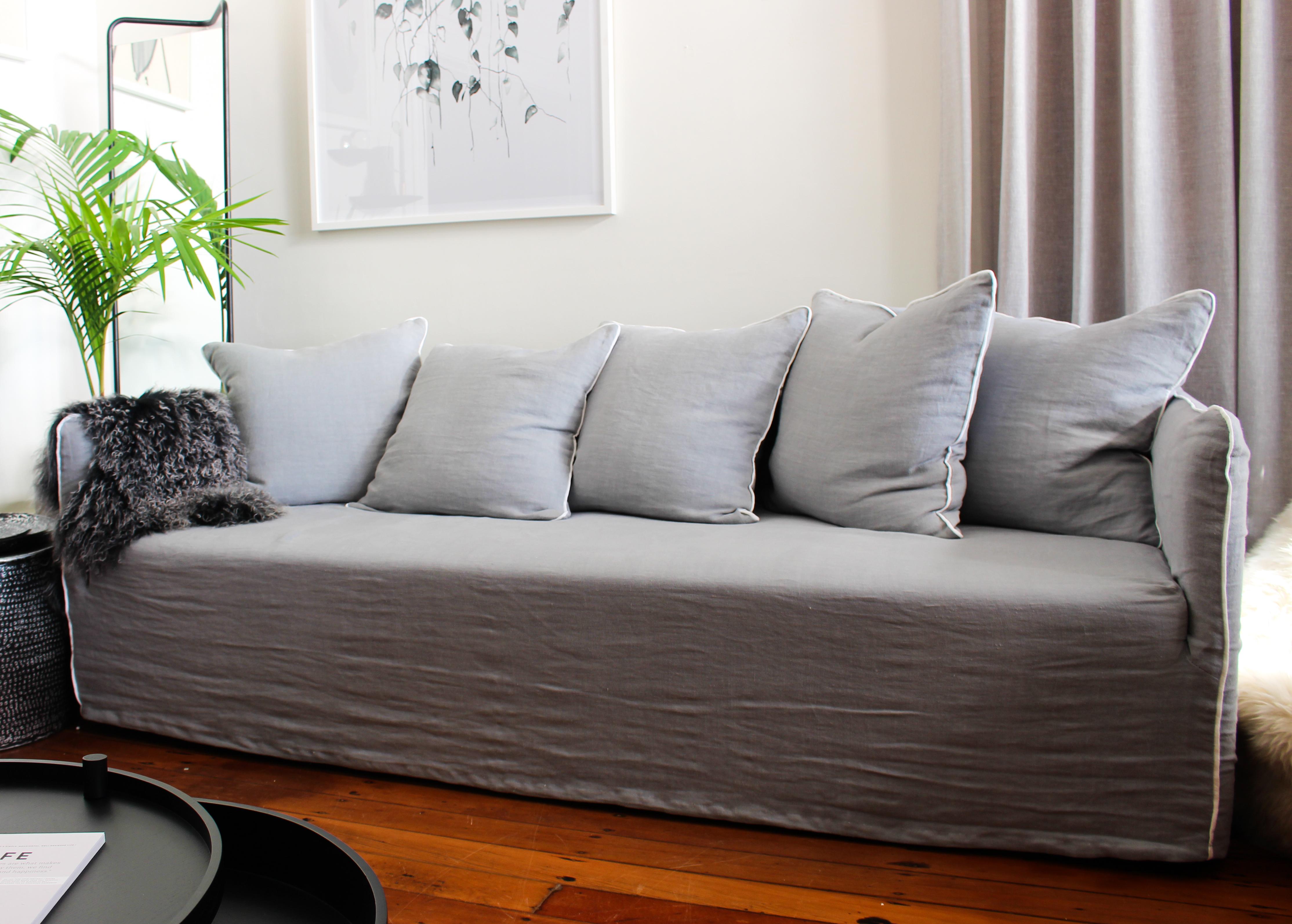 Linen Copenhagen Sofa