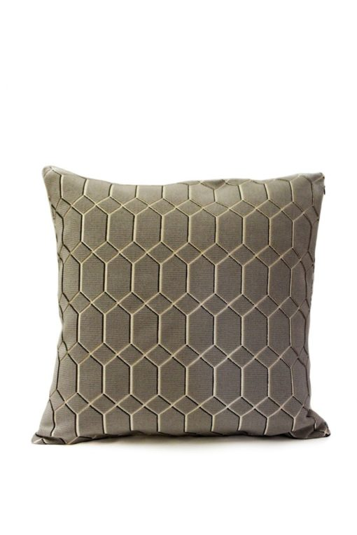 Cushion cover nz - Muse geo pewter