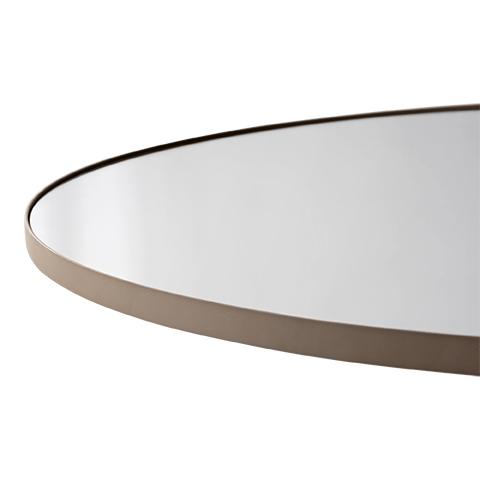 Circum Mirror Taupe