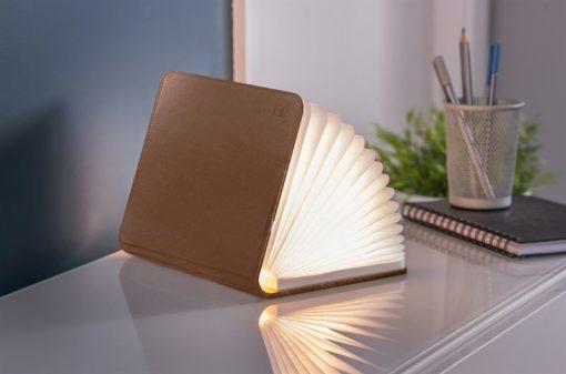 Brown Leather Mini Booklight