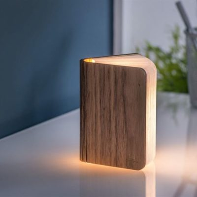 Mini Walnut Booklight