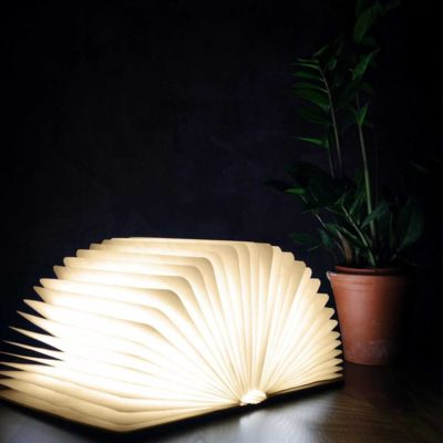 Walnut Smart LED Booklight